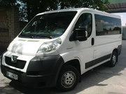 Заказ микроавтобуса Peugeot Boxer