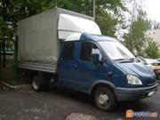 перевозки автомобилем газель дуэт 5 пассажирских мест по киеву и украи